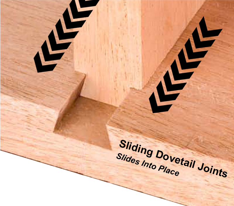 Sliding Dovetail Joints techiniques images
