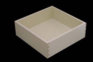 Almond Melamine Pull Out Drawers