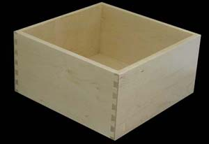 Birch Wood Pull Out Drawers