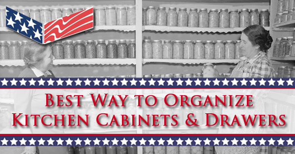 Best way to organize kitchen cabinets drawers drawer Best way to organize kitchen cabinets and drawers