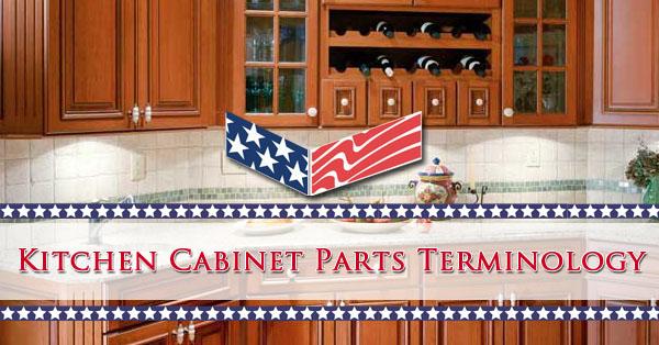 Kitchen Cabinet Parts Terminology