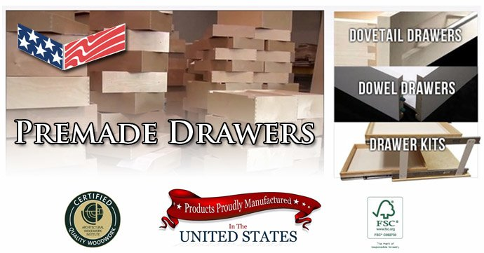 Premade Drawer Boxes