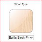 Select Drawer Box Wood Type