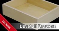 Premade Dovetail Drawers